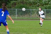 7341 Girls Varsity Soccer v Casc-Chr 101111