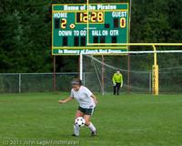 7354 Girls Varsity Soccer v Casc-Chr 101111
