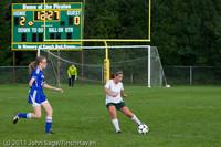 7355 Girls Varsity Soccer v Casc-Chr 101111