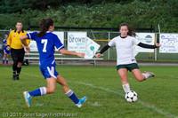 7364 Girls Varsity Soccer v Casc-Chr 101111