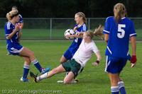7375 Girls Varsity Soccer v Casc-Chr 101111