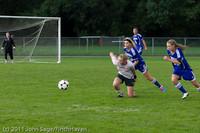 7380 Girls Varsity Soccer v Casc-Chr 101111