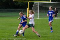 7382 Girls Varsity Soccer v Casc-Chr 101111