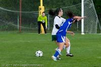 7403 Girls Varsity Soccer v Casc-Chr 101111
