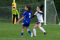 7411 Girls Varsity Soccer v Casc-Chr 101111