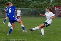 7416 Girls Varsity Soccer v Casc-Chr 101111