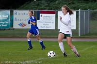 7422 Girls Varsity Soccer v Casc-Chr 101111