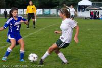 7435 Girls Varsity Soccer v Casc-Chr 101111