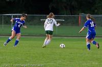 7496 Girls Varsity Soccer v Casc-Chr 101111