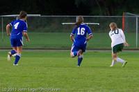 7497 Girls Varsity Soccer v Casc-Chr 101111