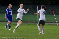 7508 Girls Varsity Soccer v Casc-Chr 101111