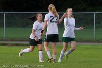 7514 Girls Varsity Soccer v Casc-Chr 101111