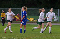 7521 Girls Varsity Soccer v Casc-Chr 101111
