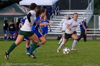 7552 Girls Varsity Soccer v Casc-Chr 101111