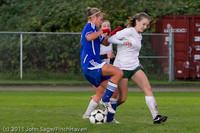 7563 Girls Varsity Soccer v Casc-Chr 101111