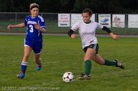 7591 Girls Varsity Soccer v Casc-Chr 101111