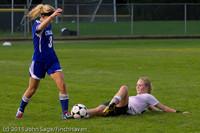 7598 Girls Varsity Soccer v Casc-Chr 101111