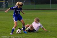 7602 Girls Varsity Soccer v Casc-Chr 101111