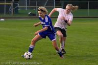 7607 Girls Varsity Soccer v Casc-Chr 101111