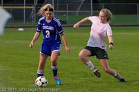7610 Girls Varsity Soccer v Casc-Chr 101111