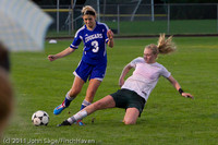 7612 Girls Varsity Soccer v Casc-Chr 101111