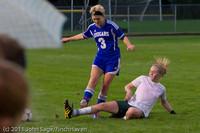7613 Girls Varsity Soccer v Casc-Chr 101111