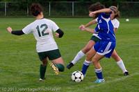 7639 Girls Varsity Soccer v Casc-Chr 101111