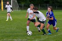7645 Girls Varsity Soccer v Casc-Chr 101111
