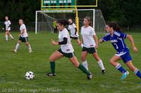 7649 Girls Varsity Soccer v Casc-Chr 101111