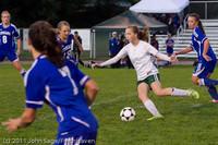 7658 Girls Varsity Soccer v Casc-Chr 101111