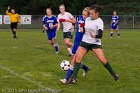 7679 Girls Varsity Soccer v Casc-Chr 101111