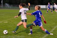 7683 Girls Varsity Soccer v Casc-Chr 101111
