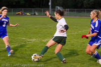 7684 Girls Varsity Soccer v Casc-Chr 101111