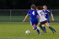 7701 Girls Varsity Soccer v Casc-Chr 101111