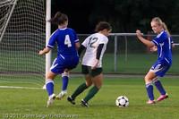 7709 Girls Varsity Soccer v Casc-Chr 101111