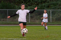 7734 Girls Varsity Soccer v Casc-Chr 101111