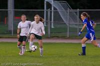 7783 Girls Varsity Soccer v Casc-Chr 101111
