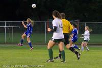 7802 Girls Varsity Soccer v Casc-Chr 101111