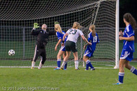 7811 Girls Varsity Soccer v Casc-Chr 101111