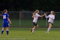 7831 Girls Varsity Soccer v Casc-Chr 101111