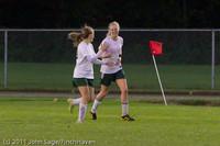 7839 Girls Varsity Soccer v Casc-Chr 101111
