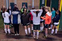 7852 Girls Varsity Soccer v Casc-Chr 101111