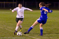 8187 Girls Varsity Soccer v Casc-Chr 101111
