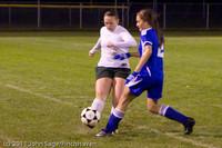 8189 Girls Varsity Soccer v Casc-Chr 101111