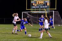 8195 Girls Varsity Soccer v Casc-Chr 101111