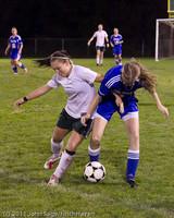 8242 Girls Varsity Soccer v Casc-Chr 101111