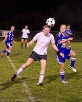 8259 Girls Varsity Soccer v Casc-Chr 101111