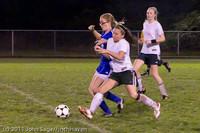 8327 Girls Varsity Soccer v Casc-Chr 101111