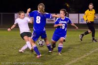 8335 Girls Varsity Soccer v Casc-Chr 101111