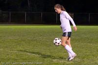 8339 Girls Varsity Soccer v Casc-Chr 101111